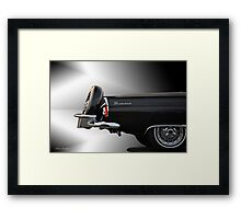1956 Ford Thunderbird 'The Continental' VS2 Framed Print