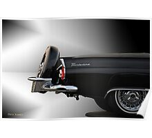 1956 Ford Thunderbird 'The Continental' VS2 Poster