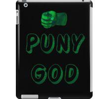 Puny God iPad Case/Skin