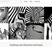 Stripes - 8 April 2011 by The RedBubble Homepage
