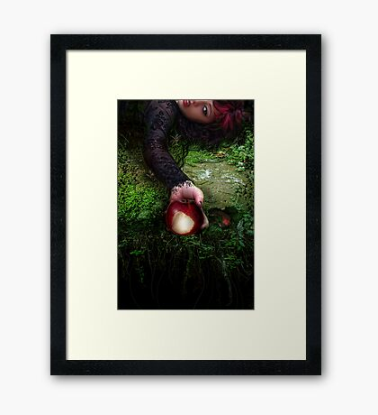 Fallen Snow Framed Print