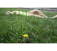 Let the grass grow through Photographic Print
