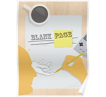 Blank Page  Poster