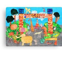 Melbourne Zoo Canvas Print