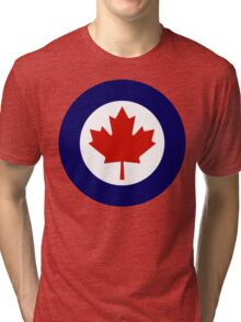 Royal Canadian Air Force Insignia Tri-blend T-Shirt