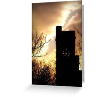 Evening is calling ©  Greeting Card