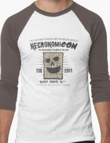 NecronomiCON '11 Men's Baseball ¾ T-Shirt