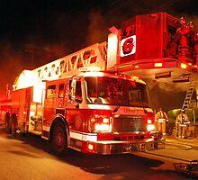 Buffalo Fire Department Ladder 6 by Bryan Sypniewski