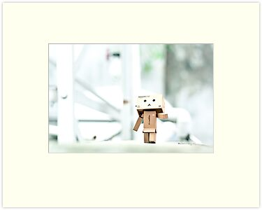 Danbo's Morning Stroll Around the Neighborhood by jughead149