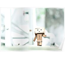 Danbo's Morning Stroll Around the Neighborhood Poster