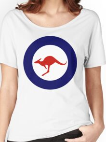 Royal Australian Air Force Insignia Women's Relaxed Fit T-Shirt