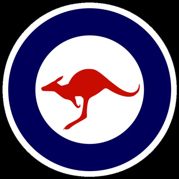 Royal Australian Air Force Insignia by warbirdwear