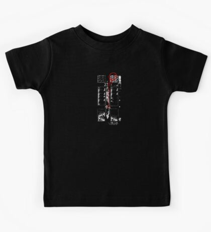 Smile! You're at 221B - red, gritty Kids Tee