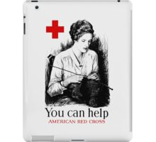 You Can Help American Red Cross iPad Case/Skin