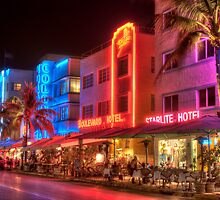 South Beach Miami by Brian Winshell