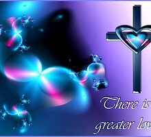 No Greater Love - Card Format by rocamiadesign