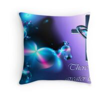 No Greater Love - Card Format Throw Pillow