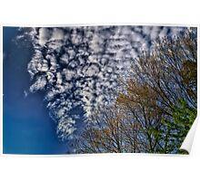 North Carolina Clouds Poster