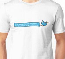 Twitter and Breakfast Unisex T-Shirt