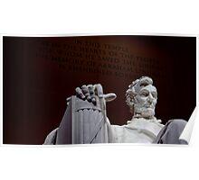 Lincoln Memorial Poster