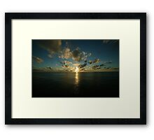 Birth of a New Day Framed Print