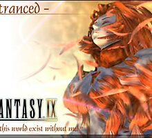 Final Fantasy Cards - Kuja (Trance) by slicepotato