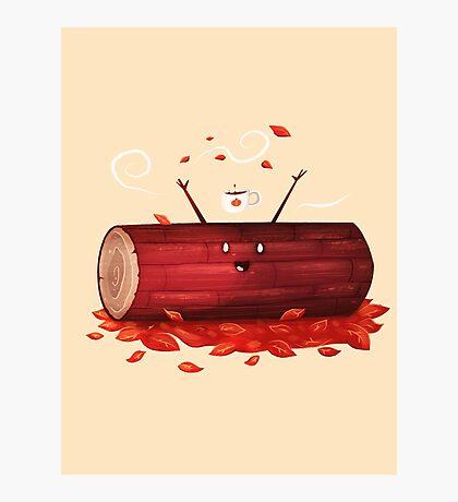 Pumpkin Spice Log(tte) Photographic Print