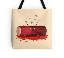 Pumpkin Spice Log(tte) Tote Bag