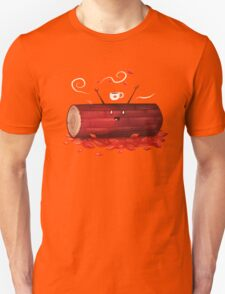 Pumpkin Spice Log(tte) Unisex T-Shirt
