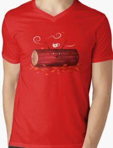 Pumpkin Spice Log(tte) Mens V-Neck T-Shirt