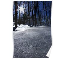 Sunny day in Monts Valins Poster