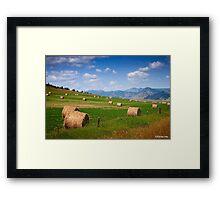 U.S. Route 212. Montana. Framed Print