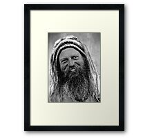 The Hippie Framed Print