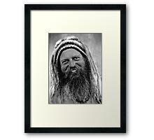 The Hippie Framed Print