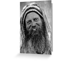 The Hippie Greeting Card