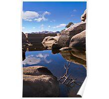 Barker Dam - Joshua Tree National Park Poster