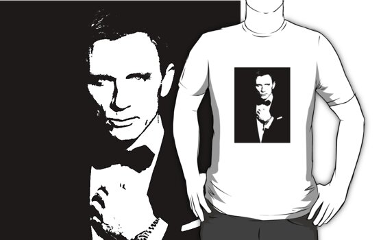 Bond, James Bond #3 T-shirt by Lauren Eldridge-Murray
