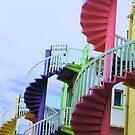 Singapore Stairs by BreeDanielle