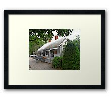 Historic Cafe Framed Print