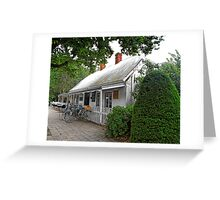 Historic Cafe Greeting Card
