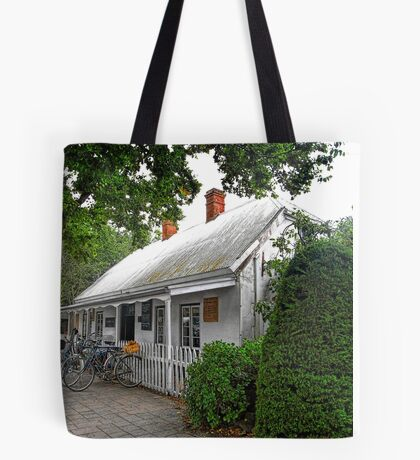 Historic Cafe Tote Bag
