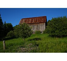 Northern MIchigan Barn Photographic Print