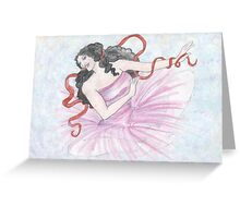 Caresse Says Yes! Greeting Card