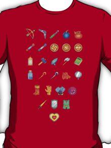 Zelda Inventory T-Shirt