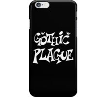 Gothic Plague: White w/ Bats iPhone Case/Skin