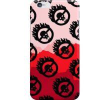 Mad Max: Fury Road Pattern (Red) iPhone Case/Skin