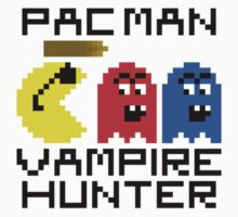 Pac Man: Vampire Hunter by inapixel