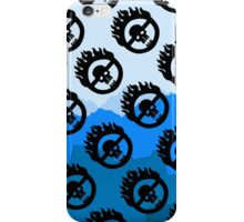 Mad Max: Fury Road Pattern (Blue) iPhone Case/Skin