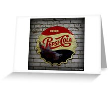 Nostalga on the Wall Greeting Card