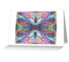 Contacts (Spiderweb Jasper) Greeting Card